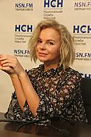 Пресс-конференция певицы Алисы Вокс. (НСН)