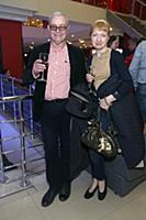 Лев Прыгунов с супругой. Премьера фильма «Тренер».