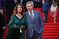Алексей Пушков с супругой. Церемония открытия 40-г