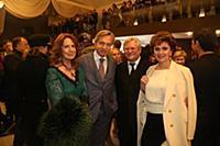 Алексей Пушков с супругой, Юрий Кара с супругой. Ц