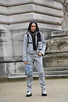 Aleali May. Street Style, Fall Winter 2018, Paris