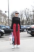 Street Style, Fall Winter 2018, Paris Fashion Week