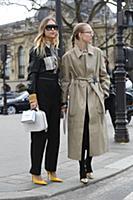 Pernille Teisbaek. Street Style, Fall Winter 2018,