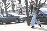 Susie Bubble. Street Style, Fall Winter 2018, Pari