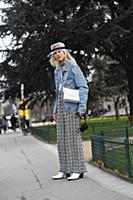 Linda Tol. Street Style, Fall Winter 2018, Paris F