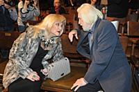 Ирина Мирошниченко, Станислав Любшин. Сбор труппы