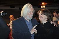 Станислав Любшин, Ирина Корнеева. Сбор труппы Моск