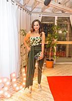 Софи Кальчева. Премиальная вечеринка телеканала RU