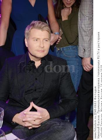 Николай Басков. Премиальная вечеринка телеканала RU.TV в ресторане «Shakti Terrace». Москва, Россия, 24 апреля 2018.