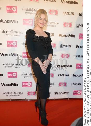 Алина Гросу. Премиальная вечеринка телеканала RU.TV в ресторане «Shakti Terrace». Москва, Россия, 24 апреля 2018.