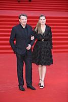 Марат Башаров с супругой. Церемония закрытия 40-го
