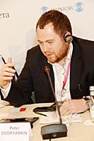 Петр Дворянкин. Российско-японский форум «Точки со