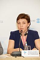 Александра Сытникова. Российско-японский форум «То