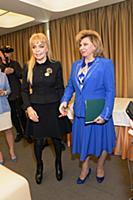 Екатерина Диброва, Татьяна Москалькова. Пресс-конф
