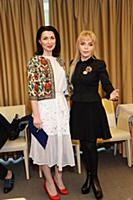 Ирина Александрова, Екатерина Диброва. Пресс-конфе