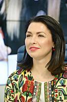 Ирина Александрова. Пресс-конференция, посвященная