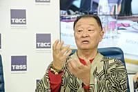 Кэри-Хироюки Тагава. Пресс-конференция, посвященна