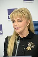 Екатерина Диброва. Пресс-конференция, посвященная