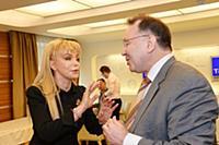 Екатерина Диброва, Сергей Васильев. Пресс-конферен