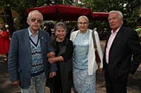 Василий Ливанов, Аристарх Ливанов с женами. Торжес