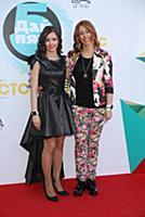Мария Ильюхина с мамой. Вручение премии 'Дай пять!