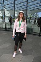 Юлия Топольницкая. Старт Зеленого марафона «Бегущи