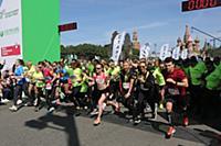 Атмосфера. Старт Зеленого марафона «Бегущие сердца