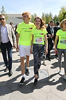 Наталья Водянова, Лукас Портман. Старт Зеленого ма