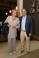 Павел Чухрай с супругой. Вечер памяти Александра А