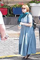 Фекла Толстая. Книжный фестиваль «Красная площадь»