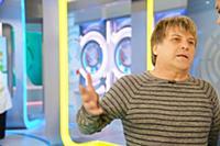 Алексей Глызин. Алексей Глызин на записи ТВ-переда