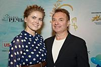 Лена Китман, Александр Добронравов. Первый Междуна