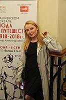 Лариса Вербицкая. Открытие выставки Александра Вас