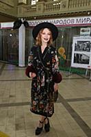 Альбина Джанабаева. Открытие выставки Александра В