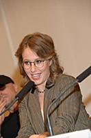 Ксения Собчак. Пресс-конференция «Премии МУЗ-ТВ 20