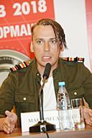 Максим Галкин. Пресс-конференция «Премии МУЗ-ТВ 20