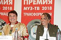 Арман Давлетьяров, Максим Галкин. Пресс-конференци