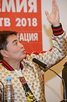 Арман Давлетьяров. Пресс-конференция «Премии МУЗ-Т
