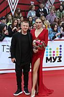Павел Курьянов (Пашу) с супругой. Церемония вручен