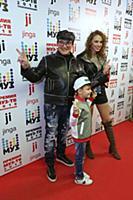 Дмитрий Дибров с семьей. Церемония вручения «Преми