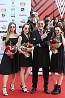 Григорий Лепс с семьей. Церемония вручения «Премии