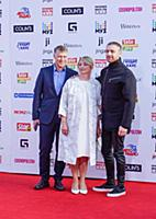 Егор Крид с родителями. Церемония вручения «Премии