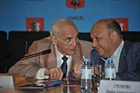Василий Лановой, Виталий Сучков. Пресс-конференция
