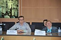 Вадим Колганов, Юрий Чернов. Пресс-конференция пос