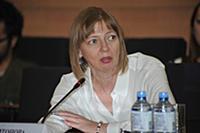Светлана Харитонова. Пресс-конференция посвященная