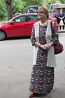Алина Покровская. Открытие мемориальной доски Бори