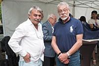 Сергей Казарновский, Юрий Рост. Открытие мемориаль