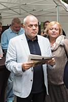 Евгений Бунимович. Открытие мемориальной доски Бор