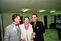 Андрей Дементьев, Николай Сличенко с супругой.