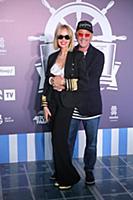 Григорий Лепс с супругой. Вечеринка в честь музыка